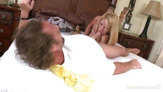 Raunchy mature Tara is getting throatfucked previous to having sex and enjoying every second of it